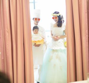子連れ結婚式での演出でデザートビュッフェ