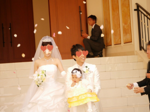 子連れ結婚式 披露宴