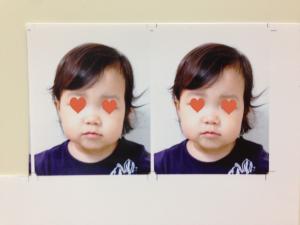 パスポート用子供の写真2