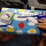 子連れで飛行機に乗る際のトイレや機内食は?役立ったおもちゃを紹介!