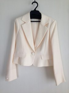七五三での母親のジャケット