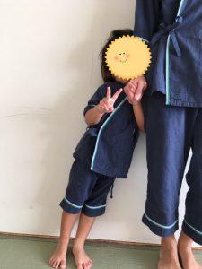 鴨川シーワールドホテルの子供用浴衣