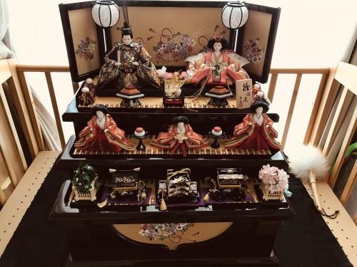 ひな人形の置く台