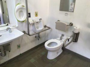 小菅ヶ谷北公園バーベキュー場のトイレ