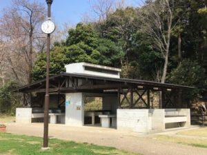 小菅ヶ谷北公園バーベキュー場の炊事棟