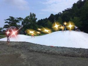 戸川公園トランポリン