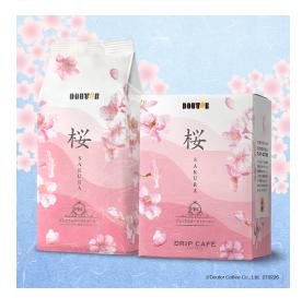 ドトール春フェアのプレミアムコーヒー桜